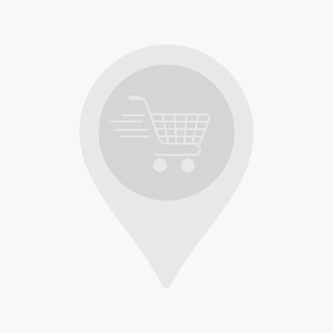 Tableau mural 3D porte bleu et bicyclette grise