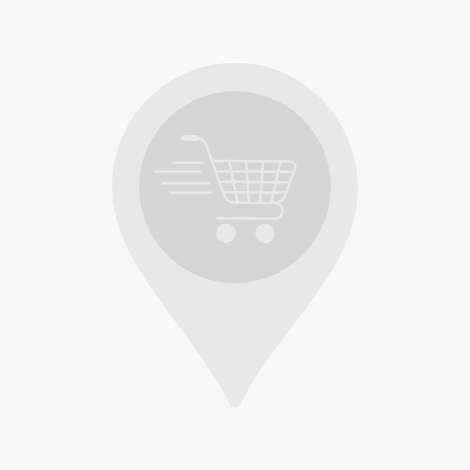 Ensemble de 3 tables basses en bois laqué Marron Blanc Jaune